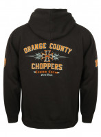 OCC Orange County Choppers Hoodie 99 Pinstripe Black