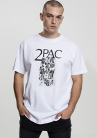 Mister Tee T-Shirt Tupac Collage Tee White