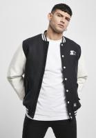 Starter Black Label Jacket Starter College Jacket Black/White