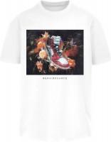 Mister Tee T-Shirt Renairssance Painting Oversize Tee White