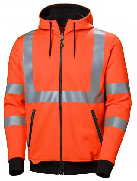 Helly Hansen Hoodie / Sweatshirt 79094 Addvis Zip Hoodie 260 Orange