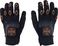WCC West Coast Choppers Handschuhe Por Vida Black/Orange