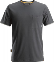 Snickers Workwear AllroundWork, 37.5® kurzarm T-Shirt Stahlgrau