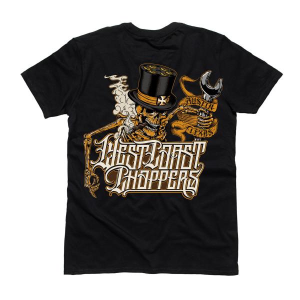 WCC West Coast Choppers T-Shirt Onride Solid Black