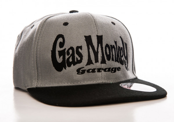 Gas Monkey Garage Cap Logo Snapback Grey