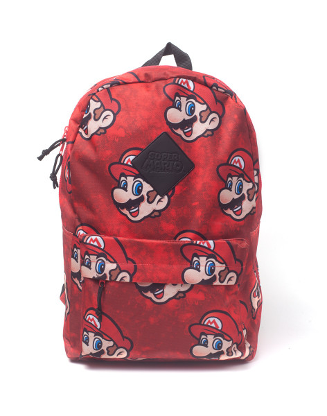 Super Mario Rucksack Nintendo - Super Mario Sublimation Backpack Red