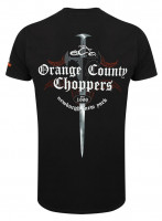 OCC Orange County Choppers T-Shirt Shop Dagger Black