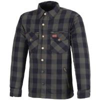 Büse M11 Karo-Cotton Textilhemd Grün