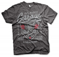 Gas Monkey Garage T-Shirt Fast´n Loud Darkgrey