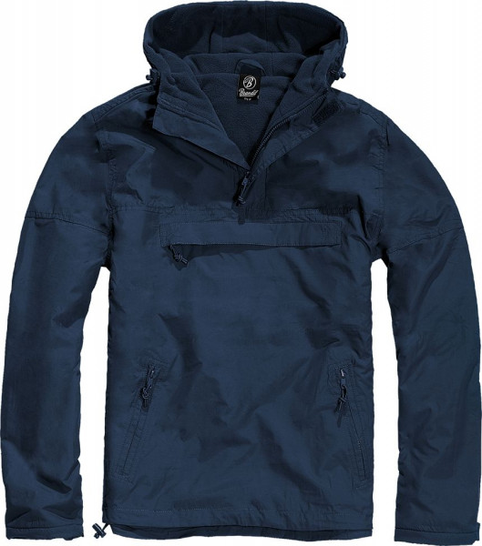 Brandit Jacke Windbreaker in Navy