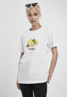 Mister Tee Female Shirt Ladies Lemon Tee White