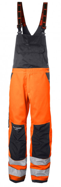 Helly Hansen Shorts / Hose 77510 Alna Bib 269 Orange/Charcoal