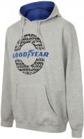 Goodyear Hoodie GYSWT024 Men's Hooded Sweater Grey