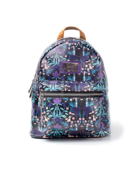 Disney Mary Poppins All Over Print Backpack Multicolor