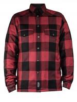 John Doe Motorrad Hemd Lumberjack Shirt Red