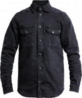 John Doe Motorrad Hemd Motoshirt Denim Black