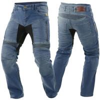Trilobite Motorradhose Parado Herren L34 Slim Fit blau