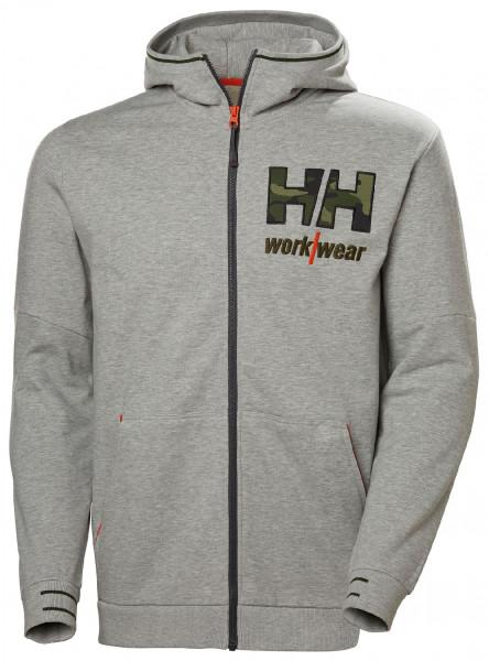 Helly Hansen Hoodie / Sweatshirt 79243 Kensington Zip Hoodie 931 Grey Melange Camo
