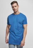 Urban Classics T-Shirt Long Shaped Turnup Tee Sporty Blue