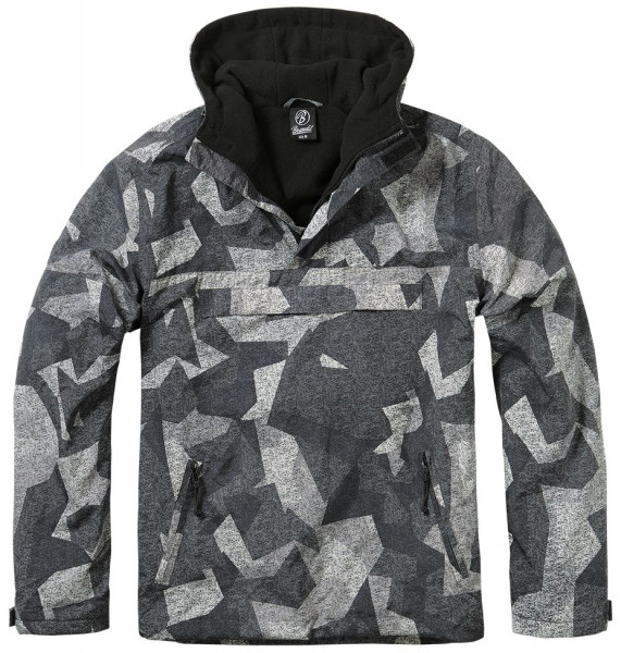 Brandit Jacke Windbreaker in Night Camo Digital