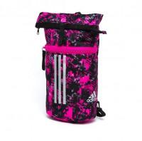 adidas Sporttasche Military Combat Pink Camo / Silber-M