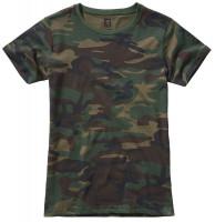 Brandit Damen Ladies T-Shirt Woodland