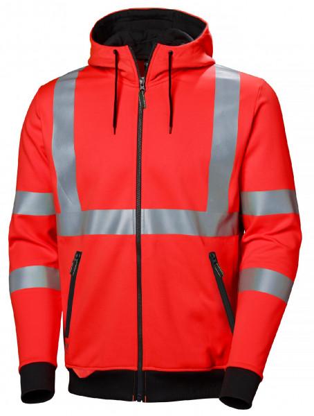 Helly Hansen Hoodie / Sweatshirt 79094 Addvis Zip Hoodie 160 Red