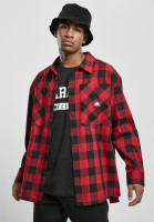 Southpole Hemd Check Flannel Shirt Red