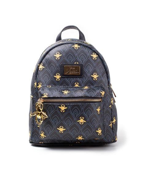 Disney Aladdin AOP Ladies Mini Backpack Black