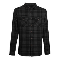 WCC West Coast Choppers Flannel La Bomba Herringbone Grey/Black
