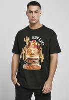Mister Tee T-Shirt Eat Lit Oversize Tee Black