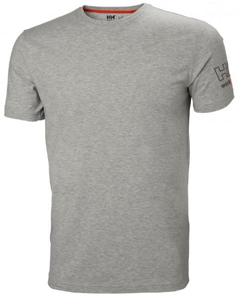 Helly Hansen T-Shirt 79246 Kensington T-Shirt 930 Grey Melange