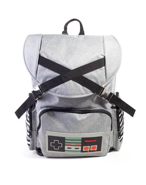 Nintendo - NES Controller Backpack Grey