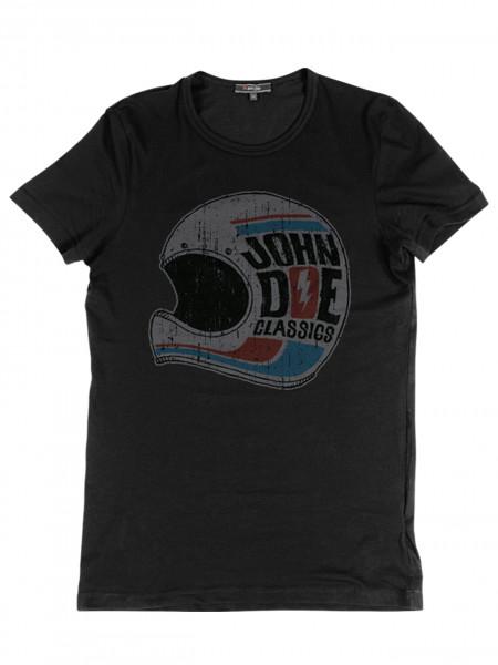John Doe T-Shirt Helmet Black