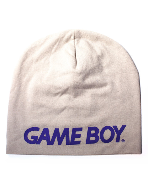 Nintendo Beanies Nintendo - Game Boy Rubber Print Summer Beanie Grey