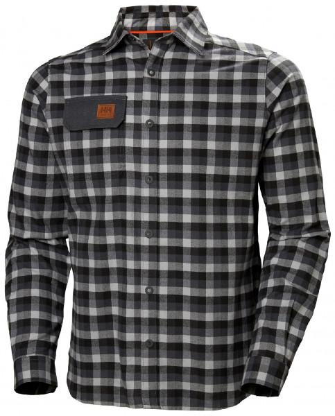 Helly Hansen Hemd 79111 Kensington Shirt 970 Dark Grey