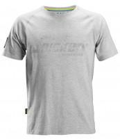 Snickers SWW Logo T-Shirt Grau