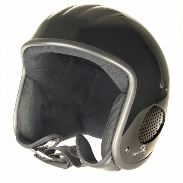 Bores Helm SRM Slight 3 Jethelm mit Textil Innenfutter glänzend Black