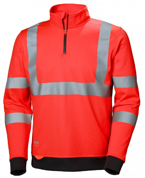Helly Hansen Hoodie / Sweatshirt 79096 Addvis Half Zip Sweatershirt 160 Red