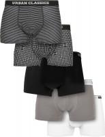 Urban Classics Organic Boxer Shorts 5-Pack M.Stripeaop/M.AOP/Blk/Asp/Wht