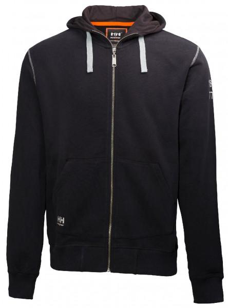 Helly Hansen Hoodie / Sweatshirt 79028 Oxford Fz Hoodie 990 Black