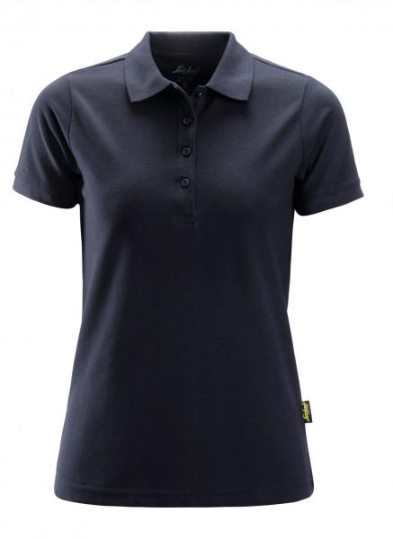 Snickers Damen Poloshirt Navy