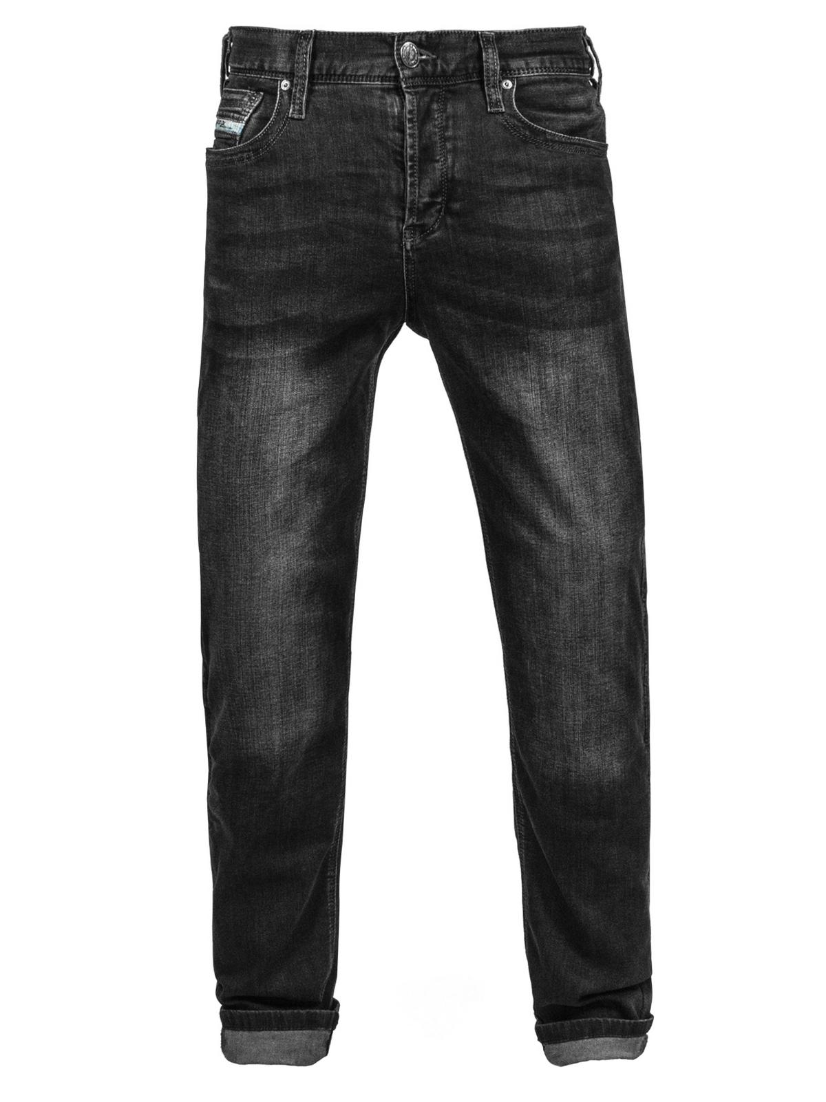 John Doe Motorrad Hose Jeans Denim Kamikaze Jeans Black-W44-L32