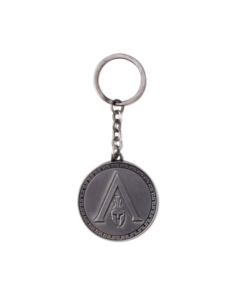 Assassin's Creed Keychains Assassin's Creed Odyssey - Odyssey Logo Metal Keychain Silver