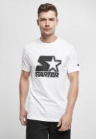 Starter Black Label T-Shirt Contrast Logo Jersey White