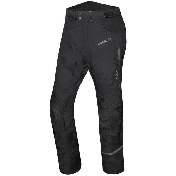 Germot Herren Motorrad Hose Textilhose Allround Schwarz