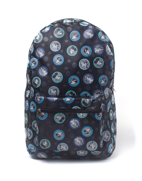 Mickey Mouse Rucksack Disney - Mickey Mouse Placement Printed Backpack Black