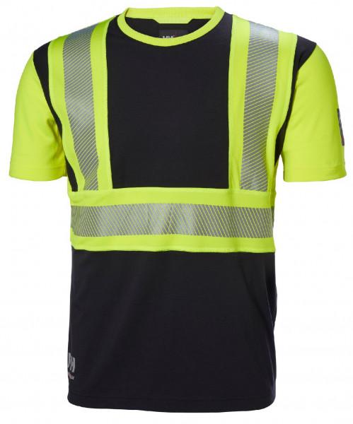 Helly Hansen T-Shirt 79271 Icu Tshirt 369 Yellow/Ebony