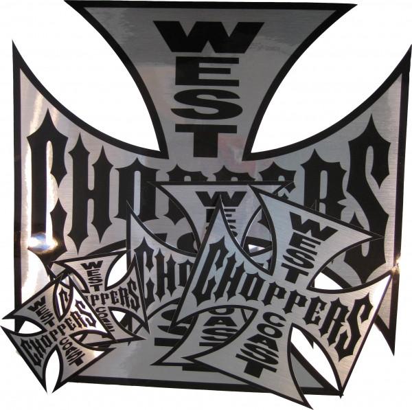 WCC West Coast Choppers Sticker Set