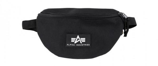 Alpha Industries Rubber Print Waistbag Taschen Black